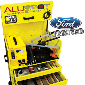 Newest Technology in Aluminum Repair - ALUSPOT Aluminum Repair Station