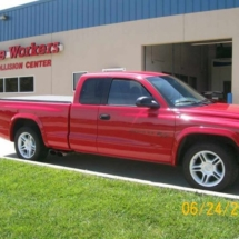 Paint / Refinish Repair - Miracle Workers Auto Collision Center